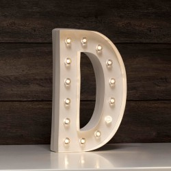 LETRA LUMINOSA D MARQUEE LOVE 30 CM