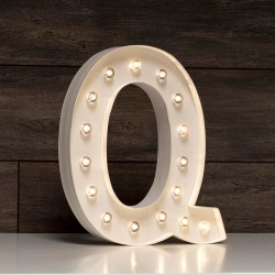 LETRA LUMINOSA Q MARQUEE LOVE 30 CM