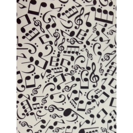 Papel decorado musical notes - Papeles para decorar ...