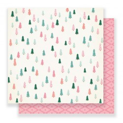 PAPEL SCRAP EVERGREEN LALALA DE CRATE PAPER