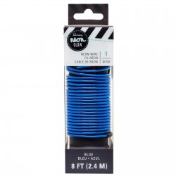CABLE NEON GLOW AZUL
