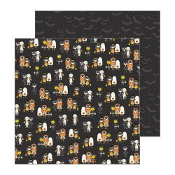PAPEL SCRAP TRICK OR TREAT SPOOKY BOO DE PEBBLES