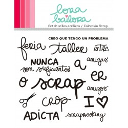 SELLO ACRILICO SCRAP LORABAILORA