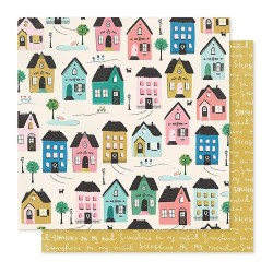 PAPEL SCRAP CABAÑA WILLOW LANE DE MAGGIE HOLMES
