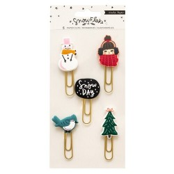 CLIPS SNOW FLAKE