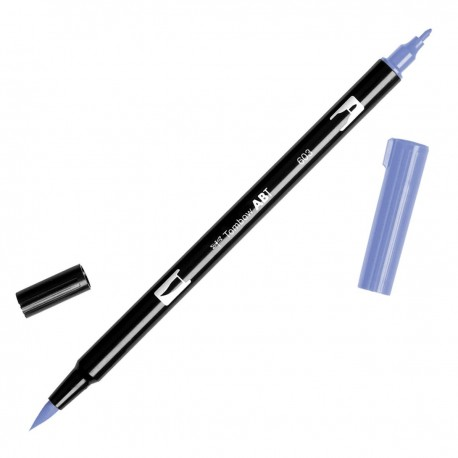 TOMBOW ABT DUAL BRUSH 603 PERIWINKLE