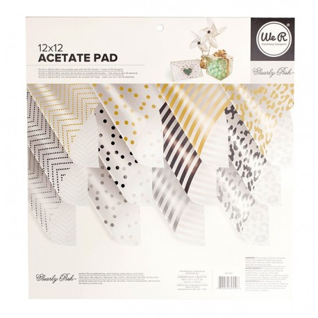 PAPEL ACETATO DECORADO